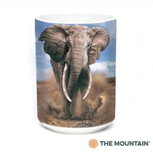 African Elephant Ceramic Mug | The Mountain®